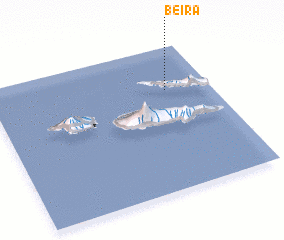 3d view of Beira