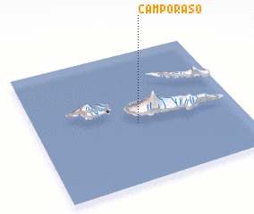 3d view of Campo Raso