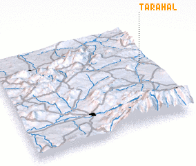 3d view of Tarahal
