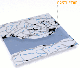 3d view of Castleton