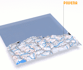 3d view of Poveña