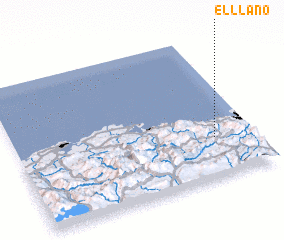 3d view of El Llano