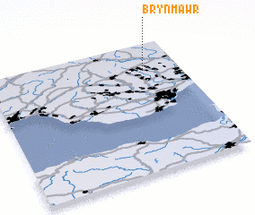 3d view of Brynmawr