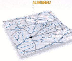 3d view of Almendres