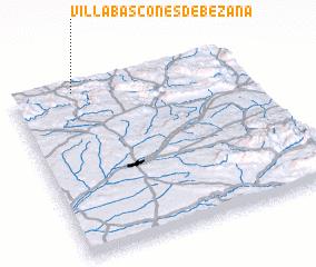 3d view of Villabáscones de Bezana