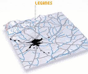 Leganés Spain Map Nonanet - Leganés map