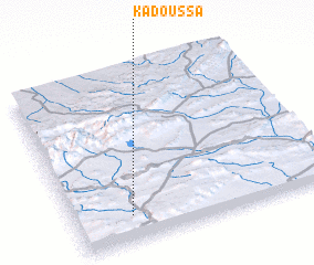 3d view of Kadoussa