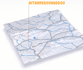 3d view of Aït Ahmed Ou Haddou