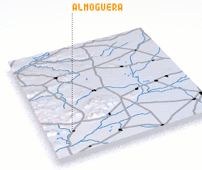 3d view of Almoguera