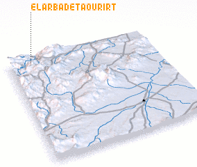 3d view of El Arba de Taourirt