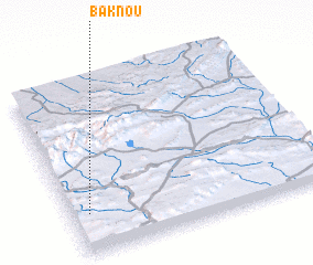3d view of Baknou