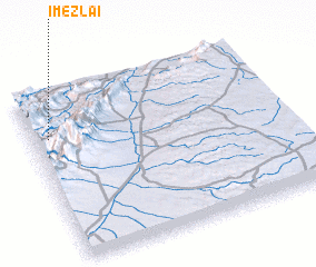 3d view of Imezlaï