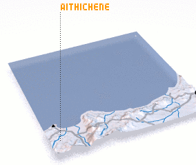 3d view of Aït Hichene