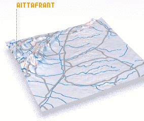 3d view of Aït Tafrant