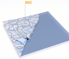 3d view of Raiz