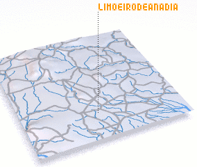 3d view of Limoeiro de Anadia