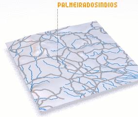 3d view of Palmeira dos Índios