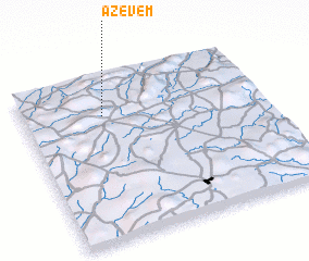 3d view of Azevém
