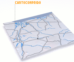 3d view of Canto Comprido