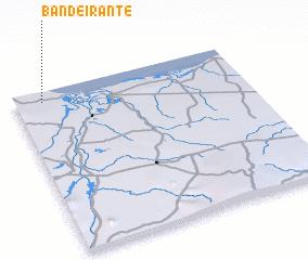 3d view of Bandeirante