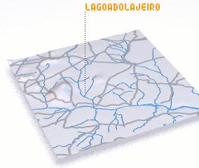 3d view of Lagoa do Lajeiro