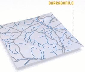 3d view of Barra do Nilo