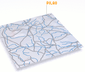 3d view of Pilão