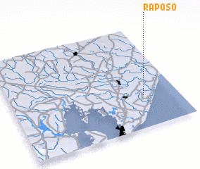 3d view of Raposo