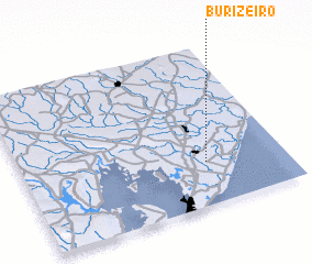 3d view of Burizeiro