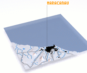 3d view of Maracanaú