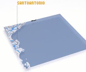 3d view of Santo Antônio