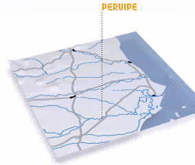 3d view of Peruípe