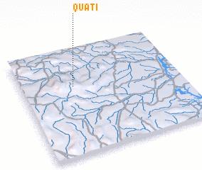 3d view of Quati
