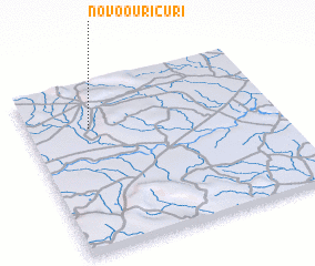 3d view of Novo Ouricuri