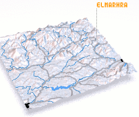 3d view of El Marhra