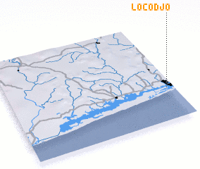 3d view of Locodjo