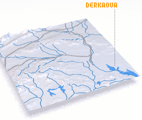 3d view of Derkaoua