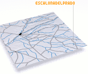 3d view of Escalona del Prado
