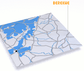 3d view of Bèrèkwè