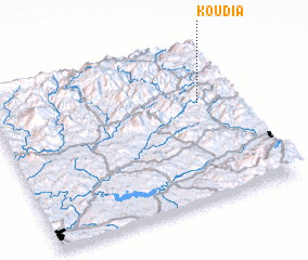 3d view of Koudia