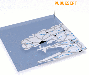 3d view of Plouescat