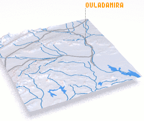 3d view of Oulad Amira