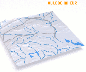 3d view of Ouled Chakeur