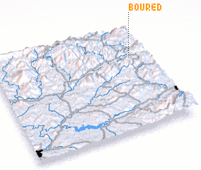 3d view of Boured