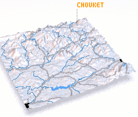 3d view of Chouket
