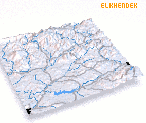 3d view of El Khendek