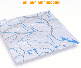 3d view of Oulad Sidi Bou Brahim
