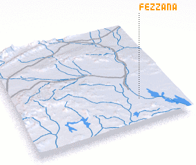 3d view of Fezzana