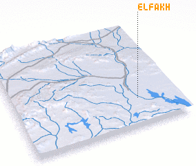 3d view of El Fakh