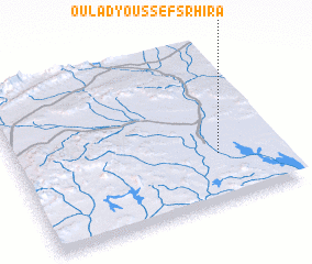 3d view of Oulad Youssef Srhira